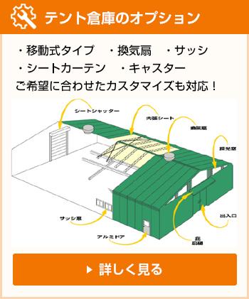 テント倉庫のオプション
