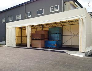 簡易テント倉庫