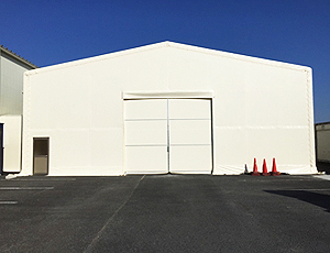 大型テント倉庫